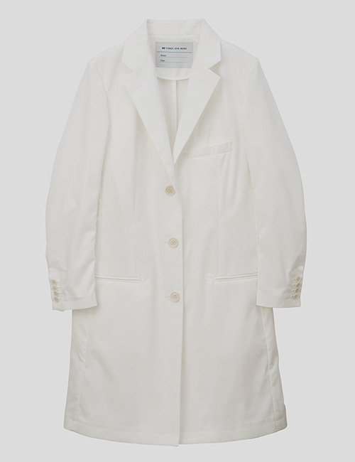 THREE AND MORE Womens Doctore Coat